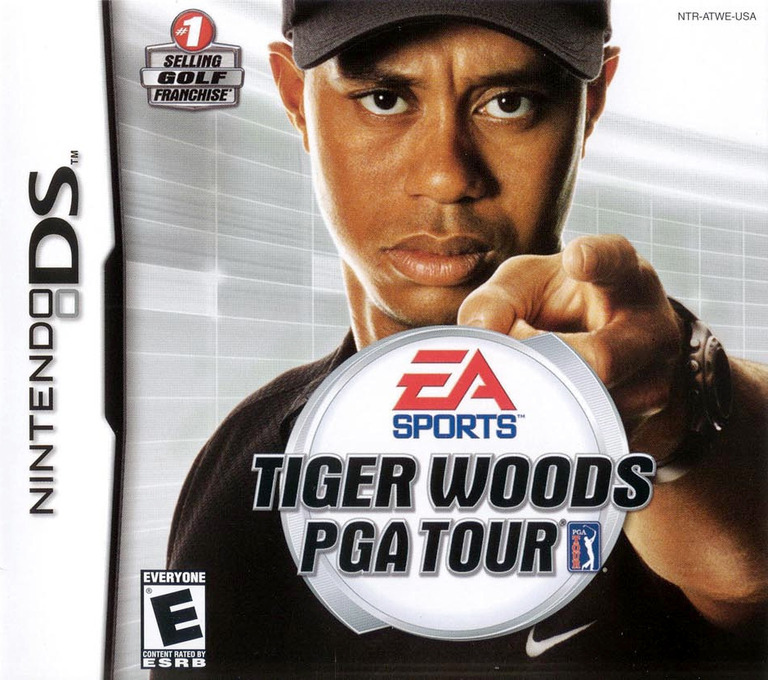 Tiger Woods PGA Tour DS coverHQ (ATWE)