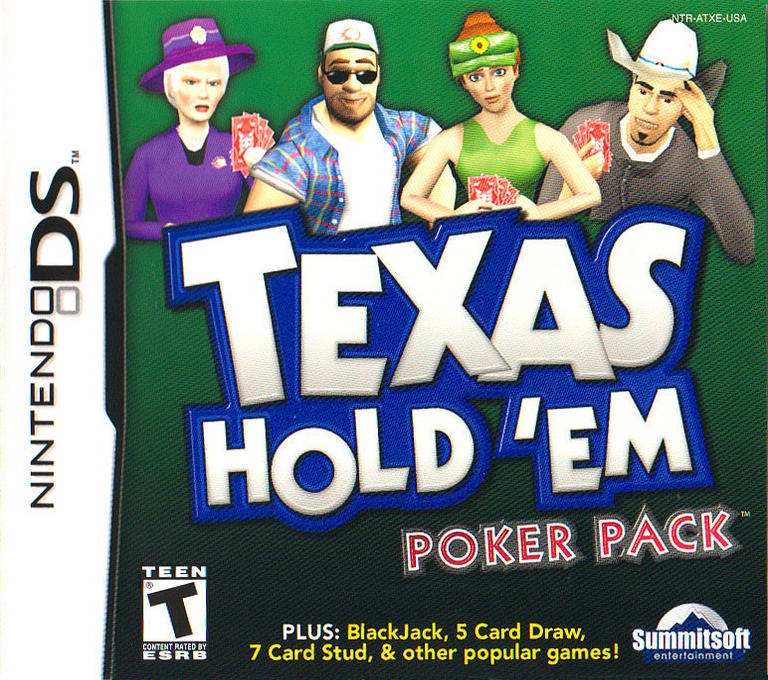 Texas Hold 'em Poker Pack DS coverHQ (ATXE)