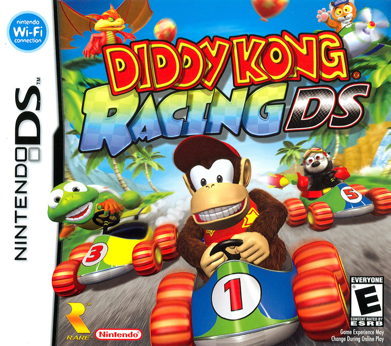 Diddy Kong Racing DS DS coverHQ (AWDE)