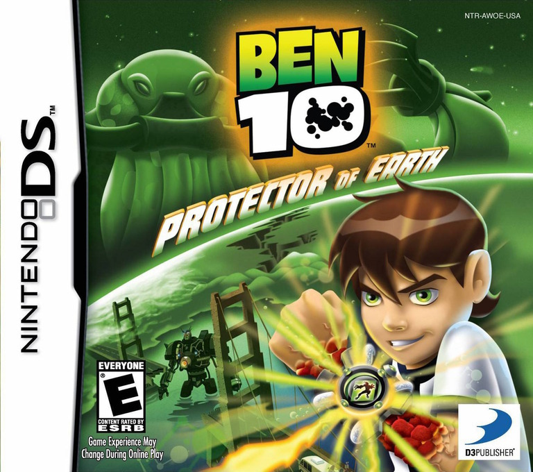 Ben 10 - Protector of Earth DS coverHQ (AWOE)