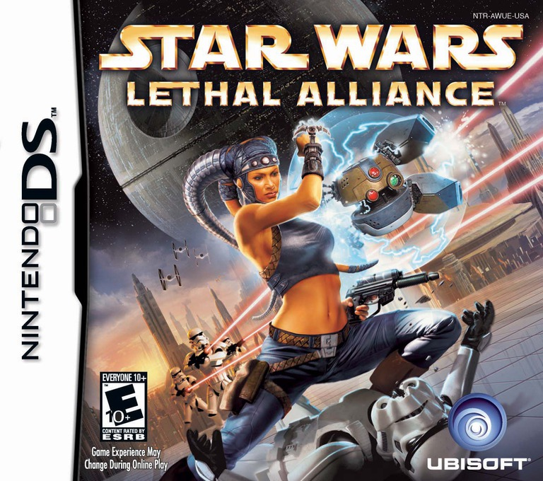 Star Wars - Lethal Alliance DS coverHQ (AWUE)