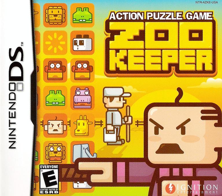 Zoo Keeper DS coverHQ (AZKE)