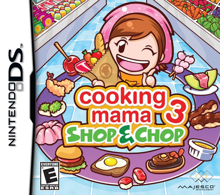 Cooking Mama 3 - Shop & Chop DS coverHQ (B3CE)