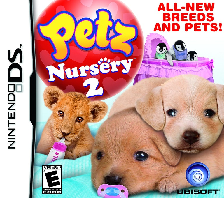 Petz - Nursery 2 DS coverHQ (B3UE)