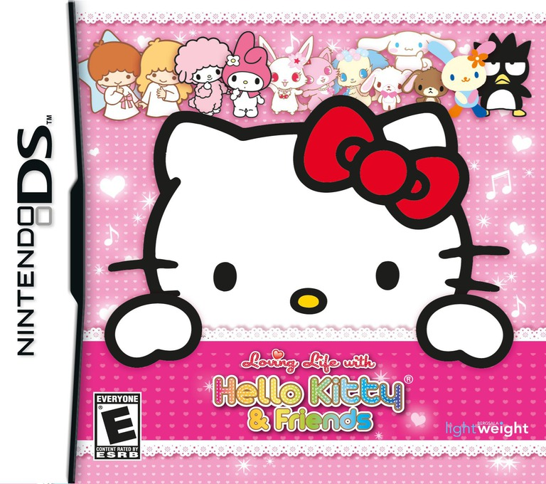 Loving Life with Hello Kitty & Friends DS coverHQ (B3YE)