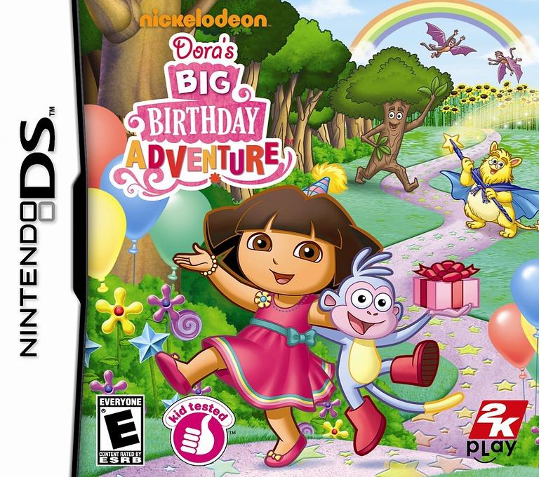 Dora's Big Birthday Adventure DS coverHQ (B4DE)