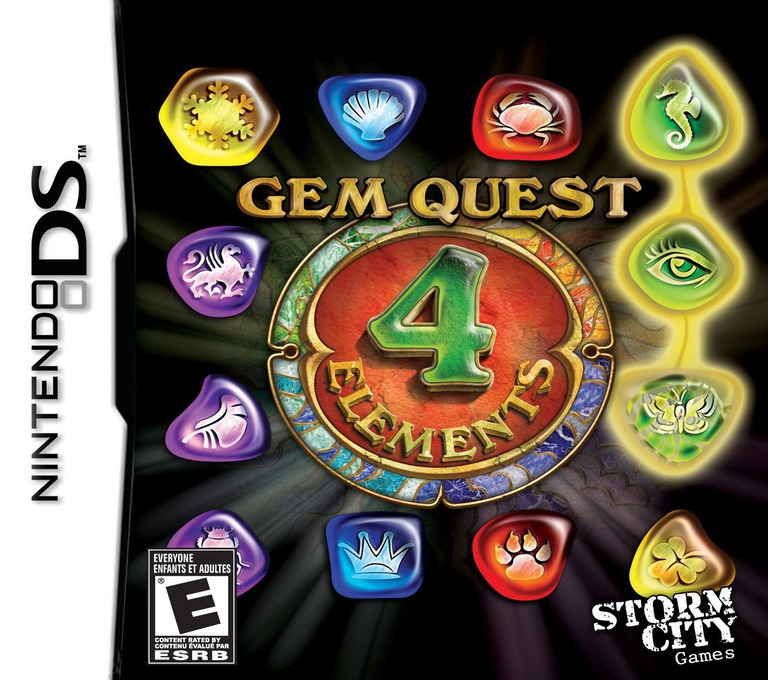 Gem Quest - 4 Elements DS coverHQ (B4EE)