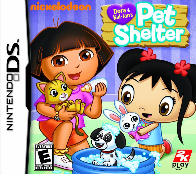 Dora & Kai-Lan's Pet Shelter DS coverHQ (B58E)