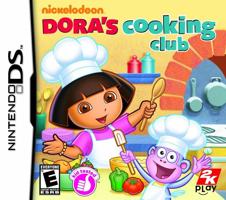 Dora's Cooking Club DS coverHQ (B5CE)