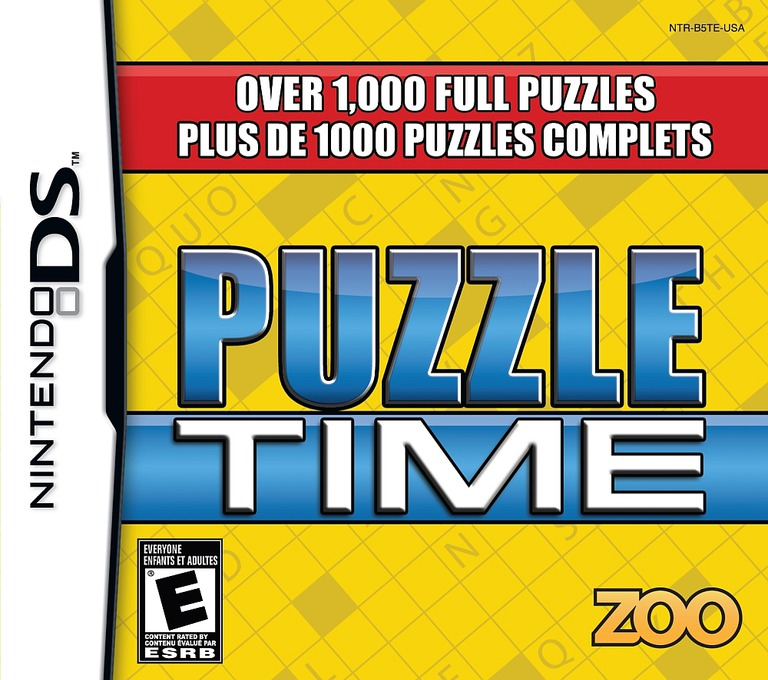 Puzzle Time DS coverHQ (B5TE)