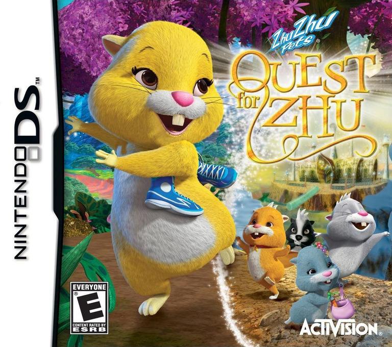 Zhu Zhu Pets - Quest for Zhu DS coverHQ (B5ZE)