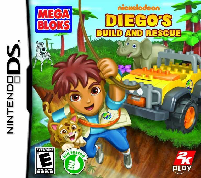 Diego's Build and Rescue DS coverHQ (B6GE)
