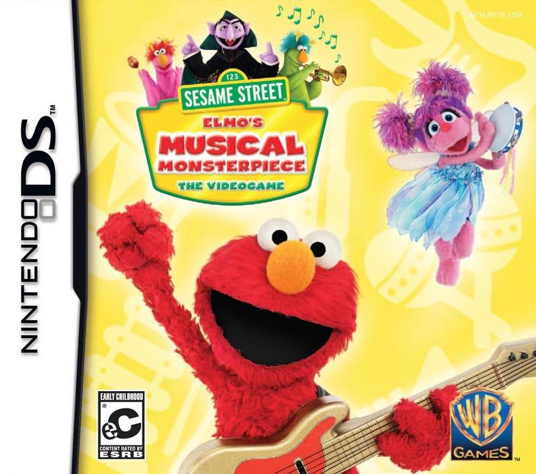 Sesame Street - Elmo's Musical Monsterpiece DS coverHQ (B6LE)