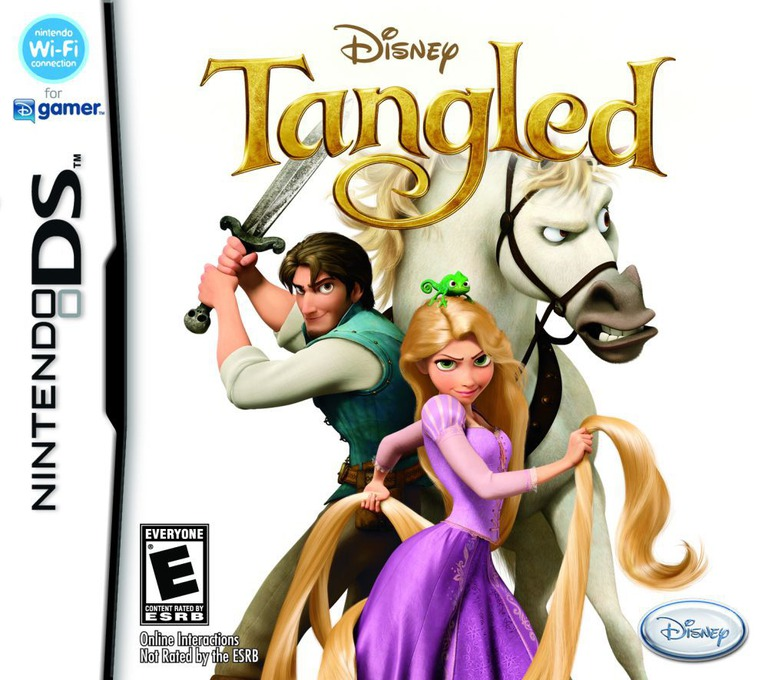 Tangled DS coverHQ (B6TE)