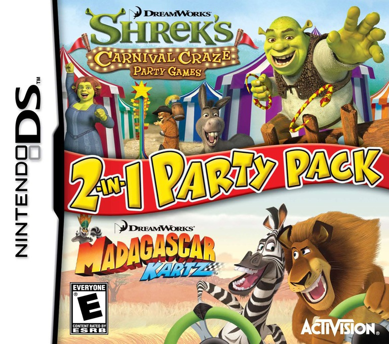 DreamWorks 2-in-1 Party Pack DS coverHQ (B6WE)