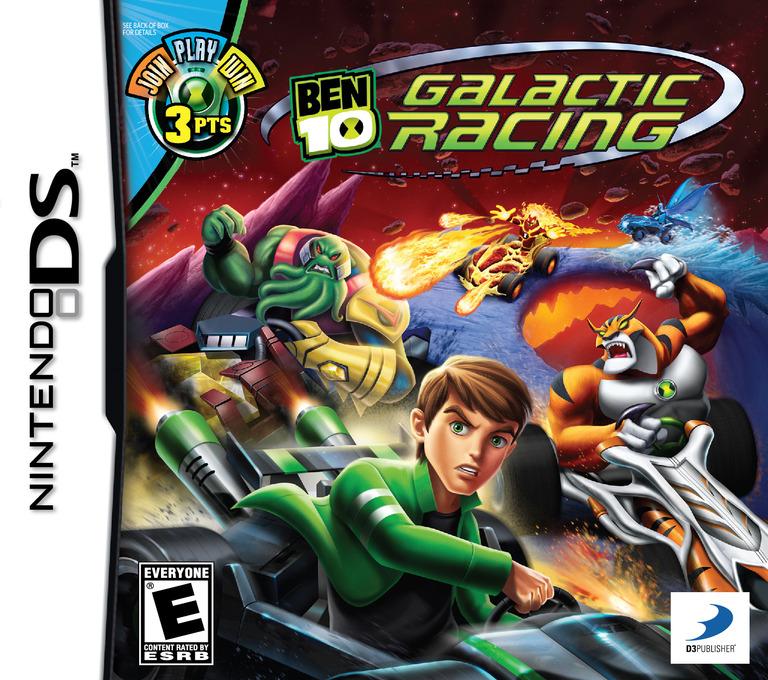 Ben 10 - Galactic Racing DS coverHQ (B76E)