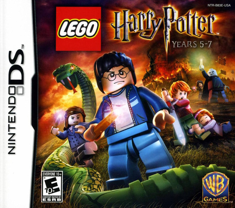 LEGO Harry Potter - Years 5-7 DS coverHQ (B83E)