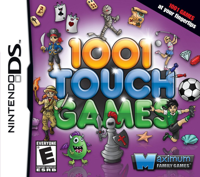 1001 Touch Games DS coverHQ (B8KE)