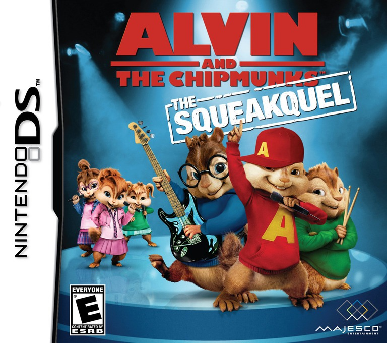 Alvin and the Chipmunks - The Squeakquel DS coverHQ (BAVE)