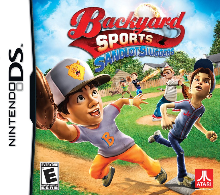 Backyard Sports - Sandlot Sluggers DS coverHQ (BBAE)