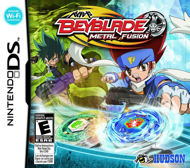 Beyblade - Metal Fusion DS coverHQ (BBUE)