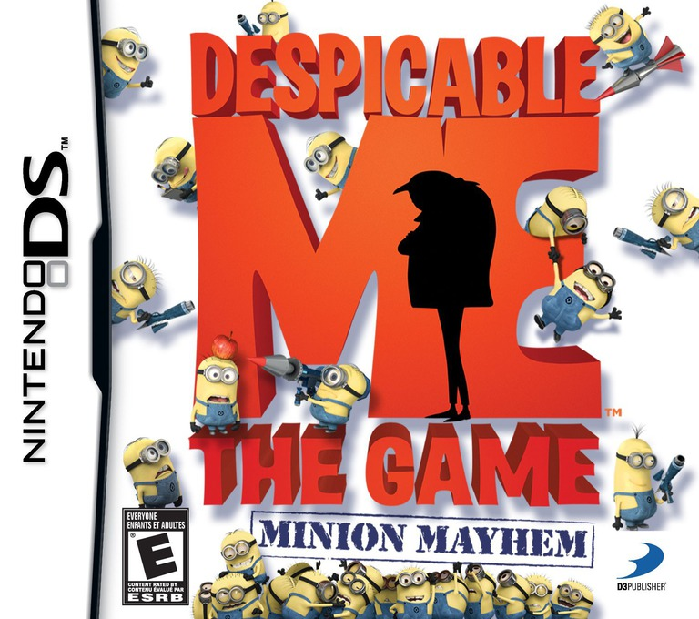 Despicable Me - The Game - Minion Mayhem DS coverHQ (BDWE)