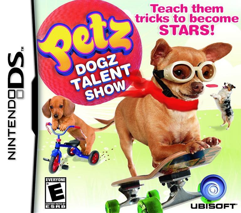 Petz - Dogz Talent Show DS coverHQ (BDZE)