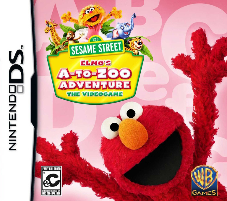 Sesame Street - Elmo's A-to-Zoo Adventure - The Videogame DS coverHQ (BERE)