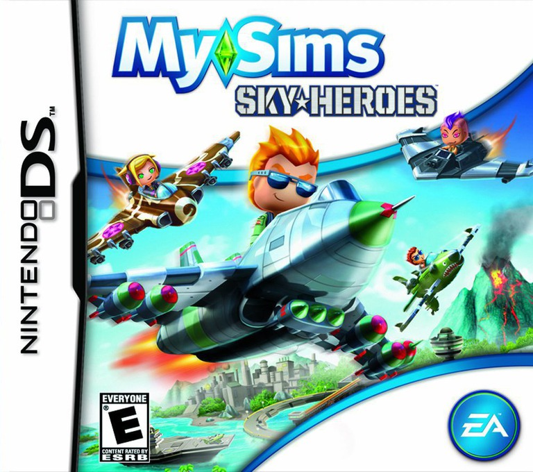 MySims - SkyHeroes DS coverHQ (BFLE)
