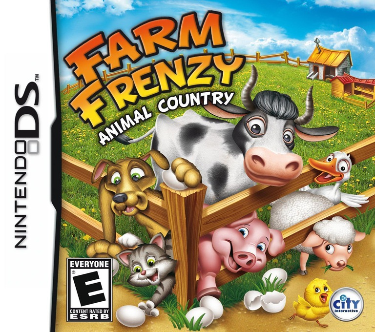 Farm Frenzy - Animal Country DS coverHQ (BFZE)