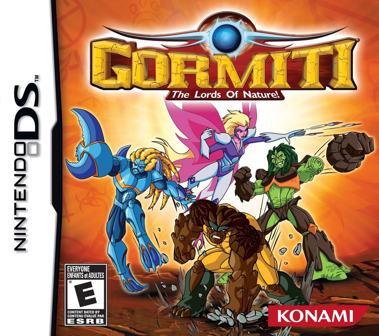 Gormiti - The Lords of Nature! DS coverHQ (BGME)