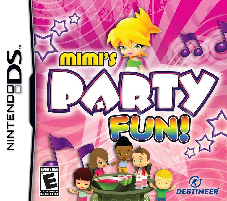 Mimi's Party Fun! DS coverHQ (BH8E)