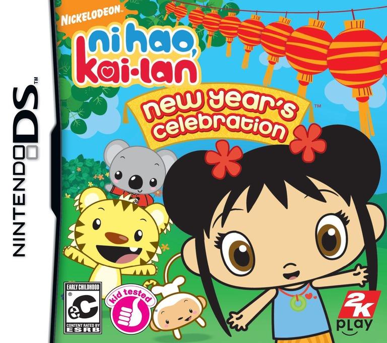 Ni Hao, Kai-Lan - New Year's Celebration DS coverHQ (BHBE)