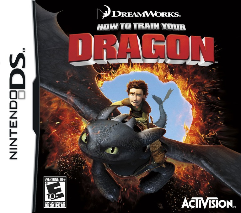 How to Train Your Dragon DS coverHQ (BHDE)