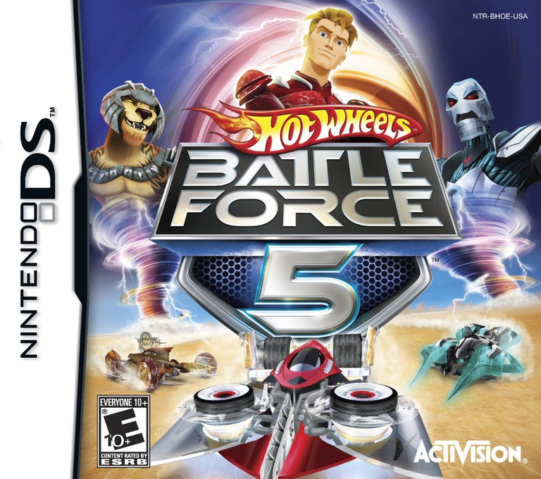 Hot Wheels - Battle Force 5 DS coverHQ (BHOE)