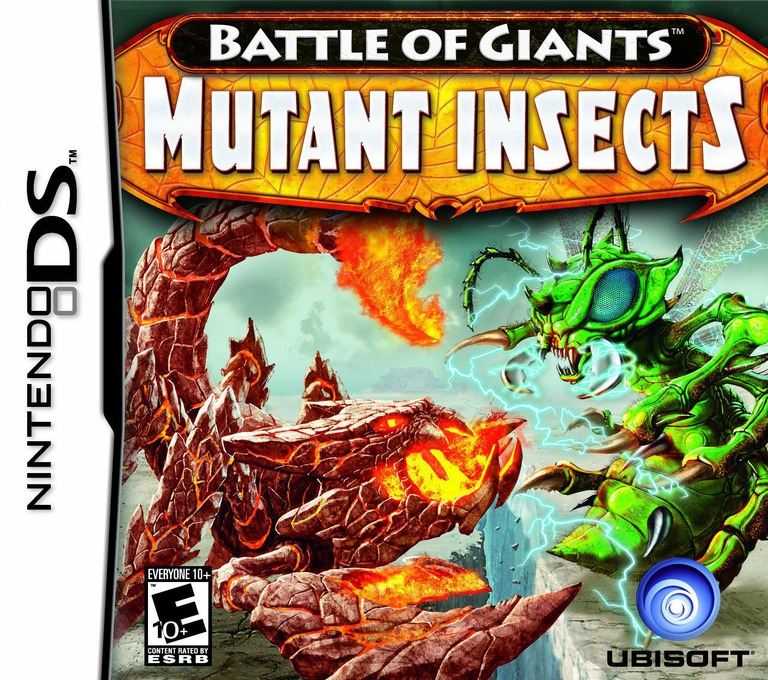 Battle of Giants - Mutant Insects DS coverHQ (BIGE)