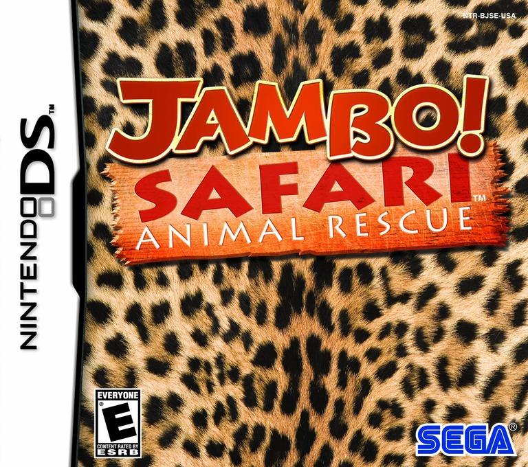 Jambo! Safari - Animal Rescue DS coverHQ (BJSE)
