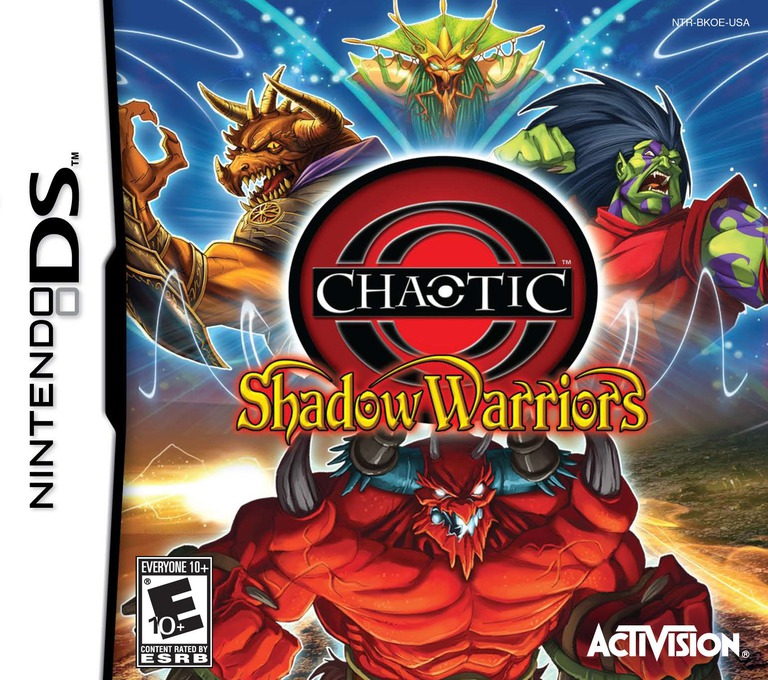 Chaotic - Shadow Warriors DS coverHQ (BKOE)