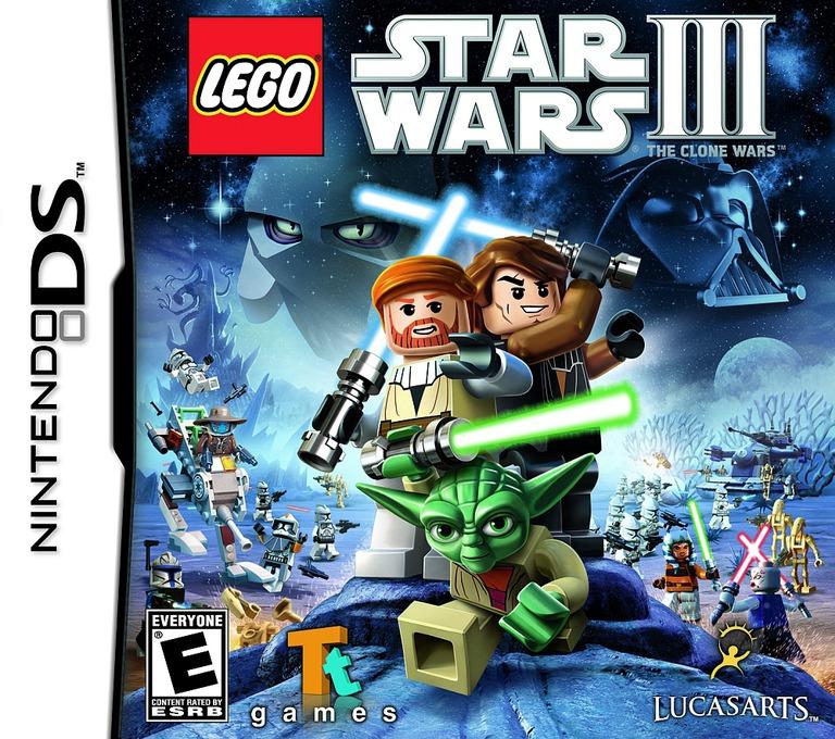LEGO Star Wars III - The Clone Wars DS coverHQ (BL9E)