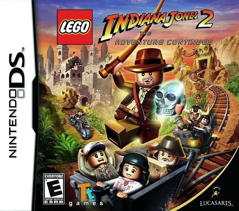 LEGO Indiana Jones 2 - The Adventure Continues DS coverHQ (BLJE)