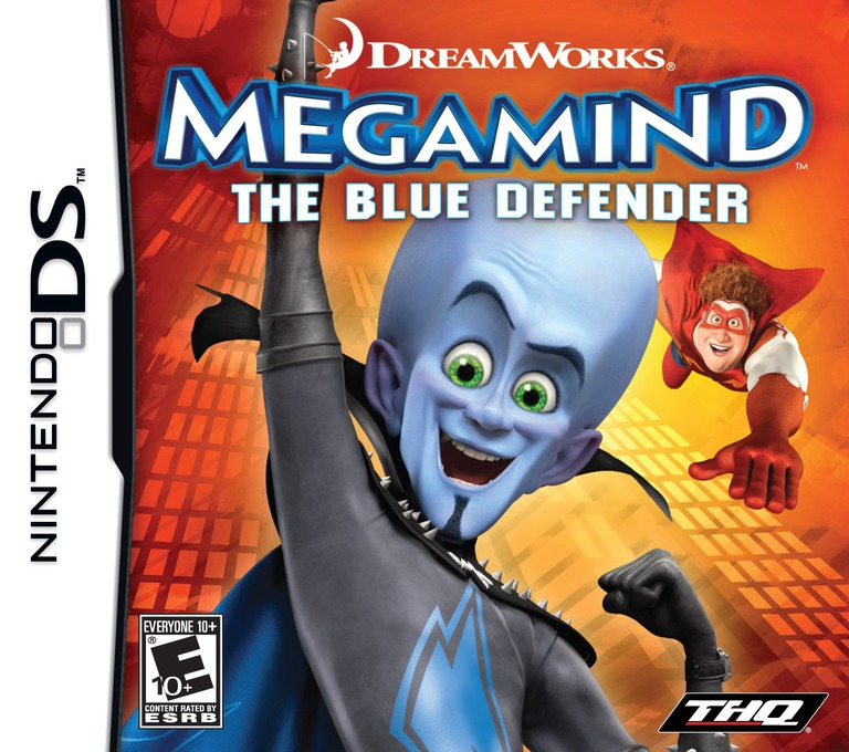Megamind - The Blue Defender DS coverHQ (BM8E)
