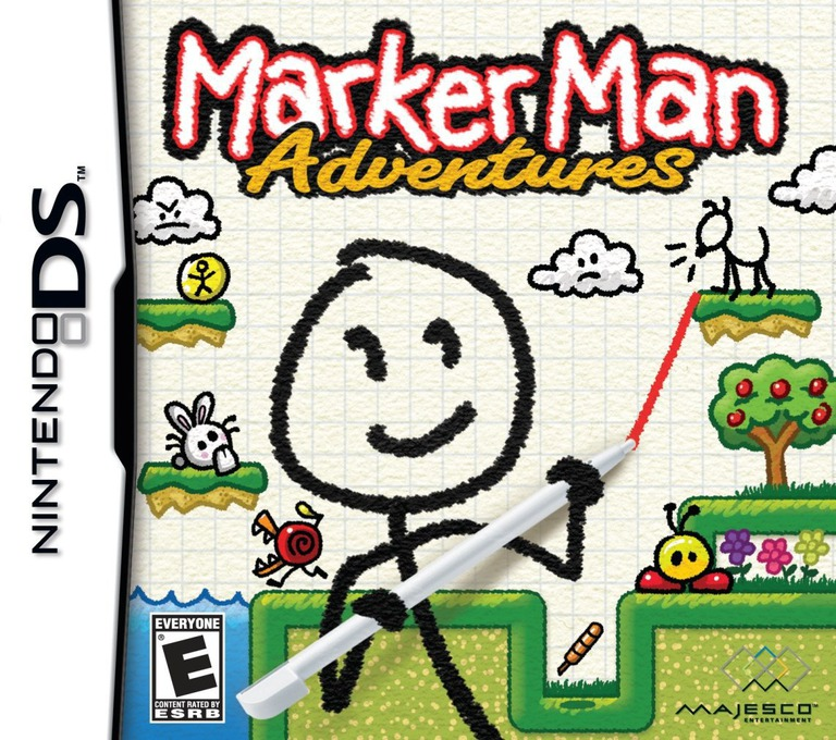 Marker Man Adventures DS coverHQ (BMKE)