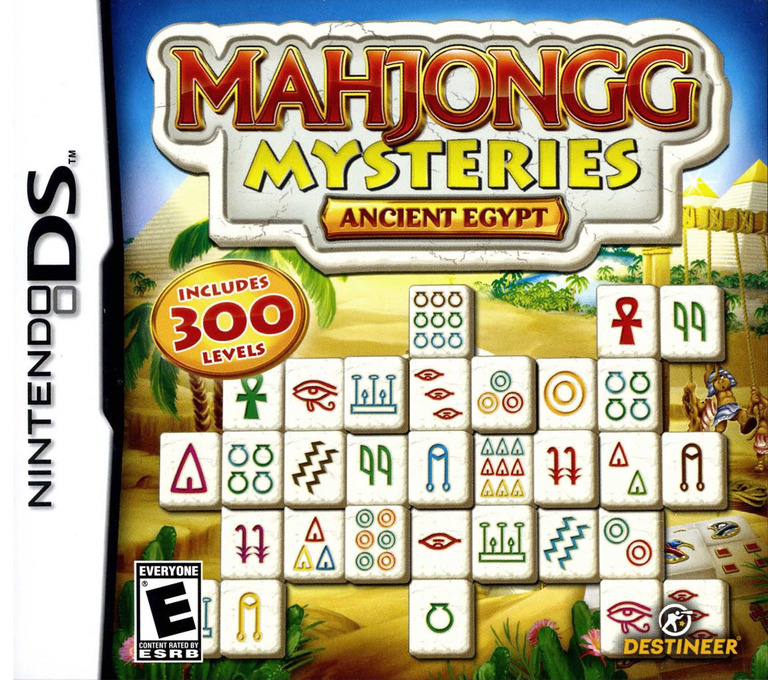 Mahjongg Mysteries - Ancient Egypt DS coverHQ (BMVE)