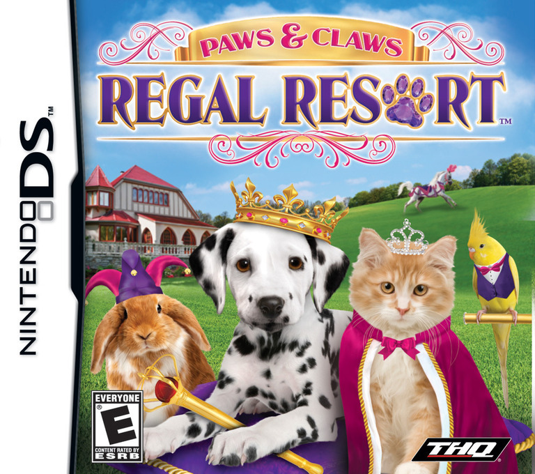 Paws & Claws - Regal Resort DS coverHQ (BMYE)