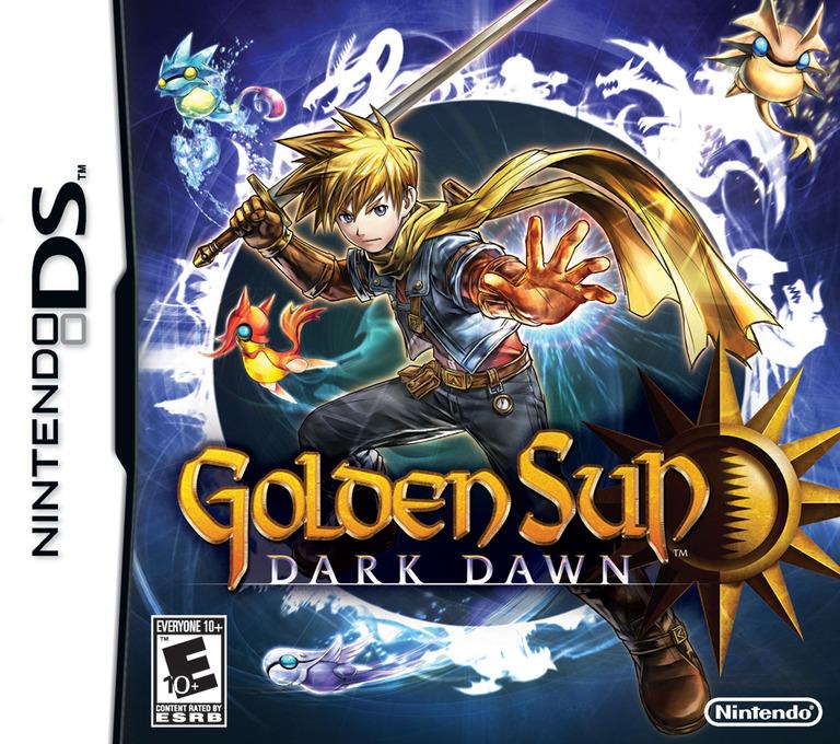 Golden Sun - Dark Dawn DS coverHQ (BO5E)