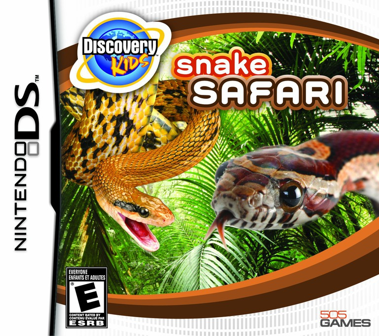 Discovery Kids - Snake Safari DS coverHQ (BPNE)