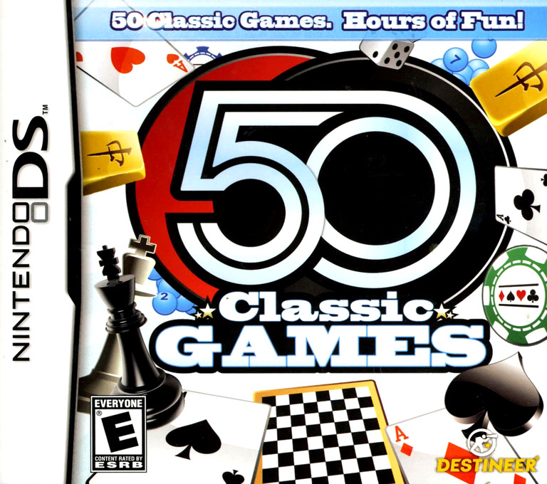 50 Classic Games DS coverHQ (BPRE)