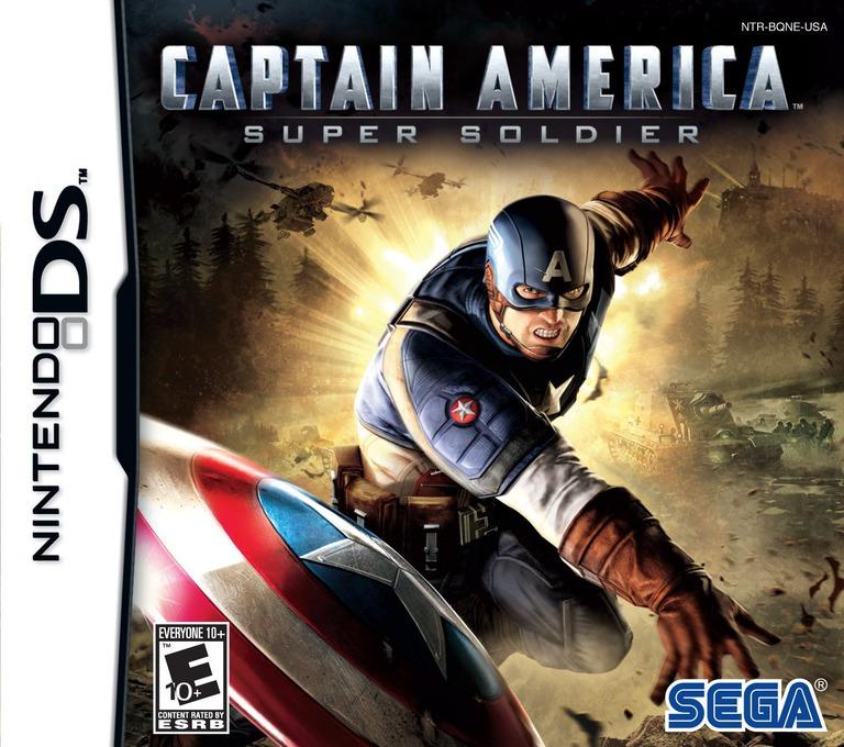 Captain America - Super Soldier DS coverHQ (BQNE)