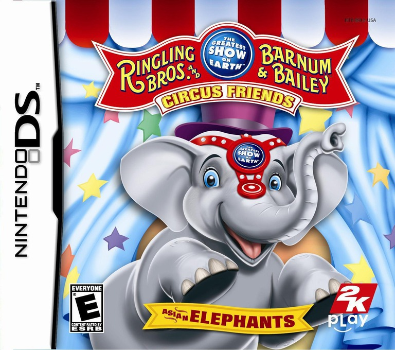 Ringling Bros. and Barnum & Bailey - Circus Friends - Asian Elephants DS coverHQ (BRLE)