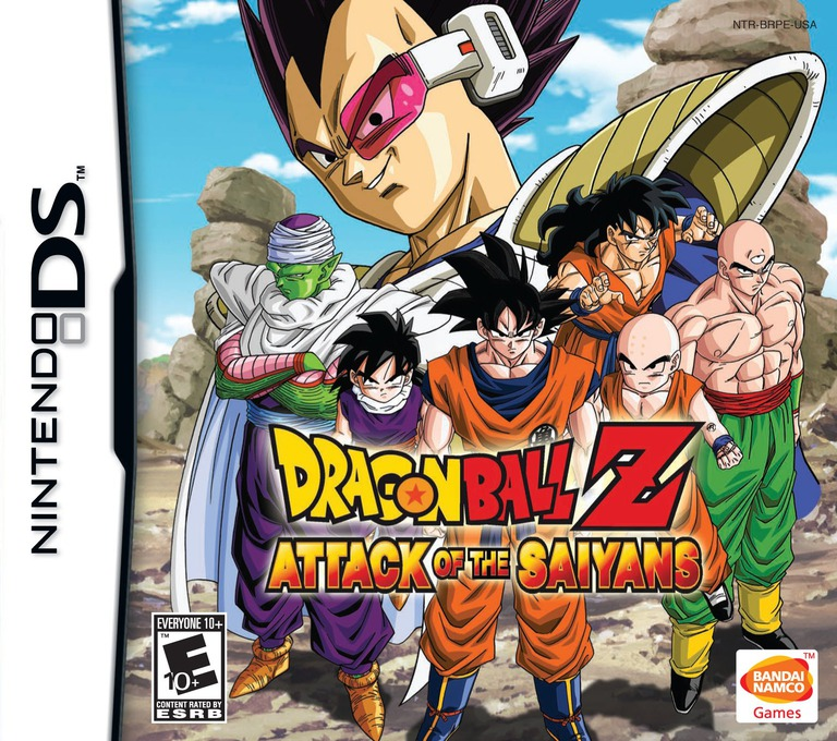 Dragon Ball Z - Attack of the Saiyans DS coverHQ (BRPE)